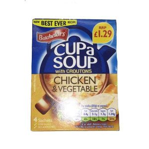 Batchelors Cup a Soup Chicken and Veg PM£1.29