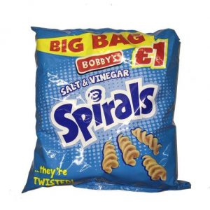 Bobbys Salt & Vinegar Spirals PM£1