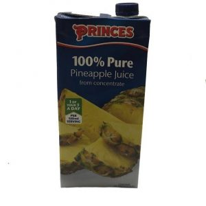 Princes Pure Pineapple Juice 1Ltr