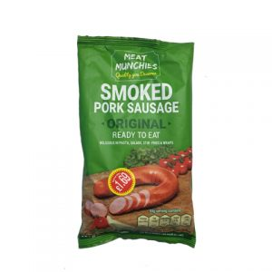 Meat Munchies Smoked Pork Sausage Origanal