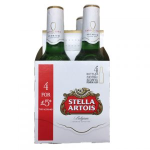 Stella 4 Bottle 330ml