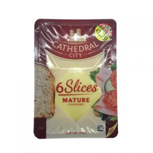 Cathedral City 6 Slices Mature Cheddar