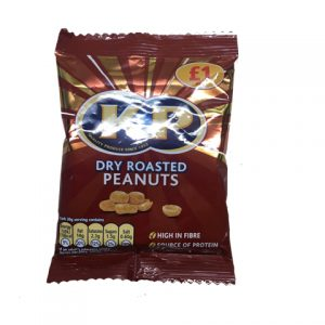 KP Peanuts Dry Roasted 65g