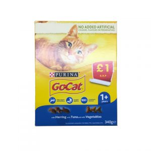 Go Cat Herring with Tuna and Vegetables