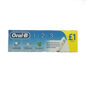 Oral B 1..2.3 Toothpaste