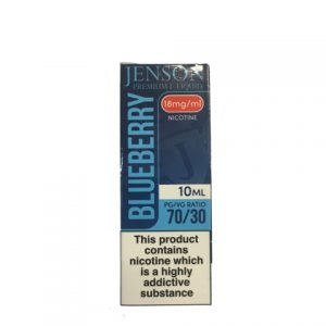 Jenson Premium E-Liquid Blueberry